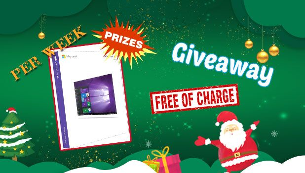 Chritmas Giveaway - Get free of charge.