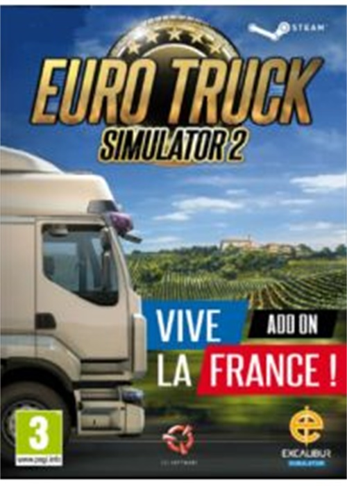 Euro Truck Simulator 2 Vive la France Steam CD Key