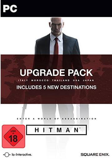 Hitman Upgrade Pack Steam CD Key