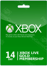 Xbox 14 Days Gold Membership