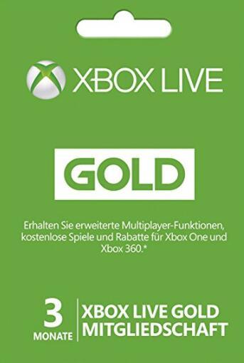 Xbox live 3 Month Gold Membership Digital Code