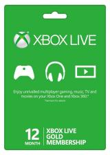 urcdkeys.com, Xbox Live 12 Months Gold Membership Card Global
