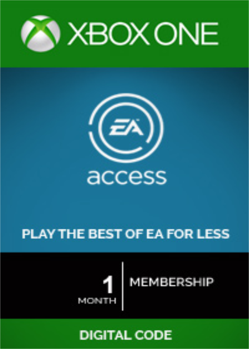 EA Access 1 Month Xbox One CD Key