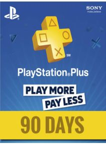 Playstation Plus 90 Days DE
