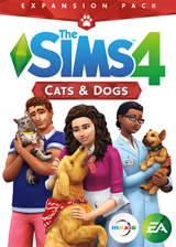 Official The Sims 4 Cats And Dogs DLC Origin CD Key Global