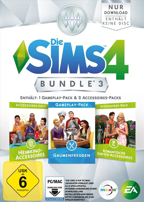Die Sims 4 Bundle Pack 3 DLC ORIGIN CD KEY GLOBAL