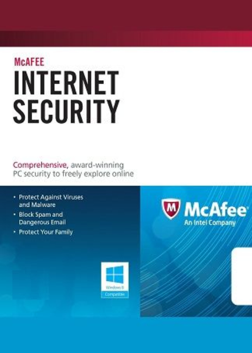 McAfee Internet Security 1 PC 1 YEAR Global