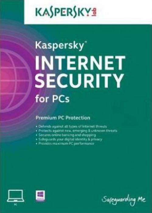 Kaspersky 2019 Internet Security 1 PC 1 YEAR EU