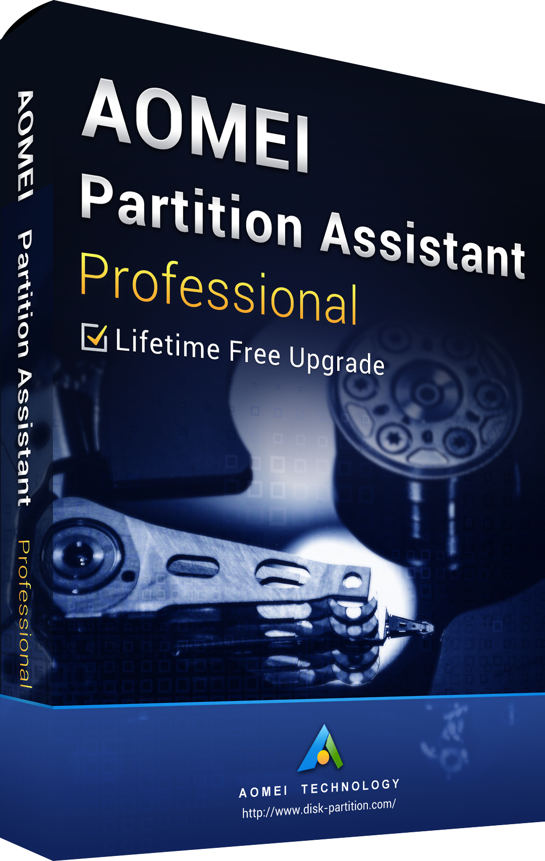 AOMEI Partition Assistant Professional + Free Lifetime Upgrades 8.8 Edition Key Global
