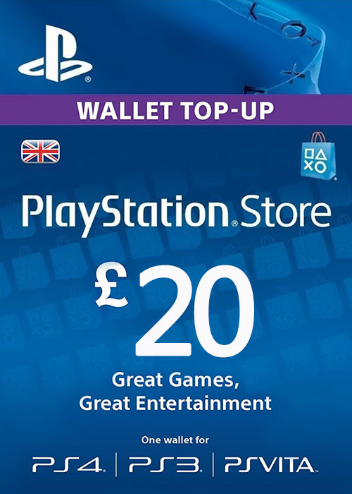 Play Station Network 20 GBP UK