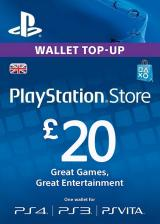 Official Play Station Network 20 GBP UK