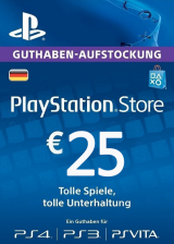 Official Play Station Network 25 EUR DE