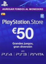 URCDkeys.com, Play Station Network 50 EUR ES/SPAIN