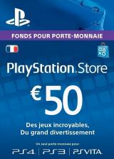 Official Play Station Network 50 EUR FR
