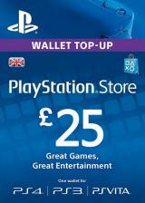 URCDkeys.com, Play Station Network 25 GBP UK