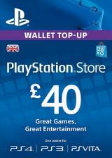 URCDkeys.com, Play Station Network 40 GBP UK