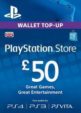 URCDkeys.com, Play Station Network 50 GBP UK