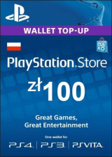 URCDkeys.com, Play Station Network 100 PLN PL