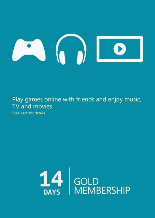 Xbox 14 Days Gold Membership