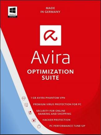 Avira Optimization Suite 3 PCs 1 Year Global