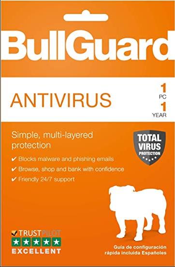 BullGuard Antivirus 1 PC 1 Year Key Global