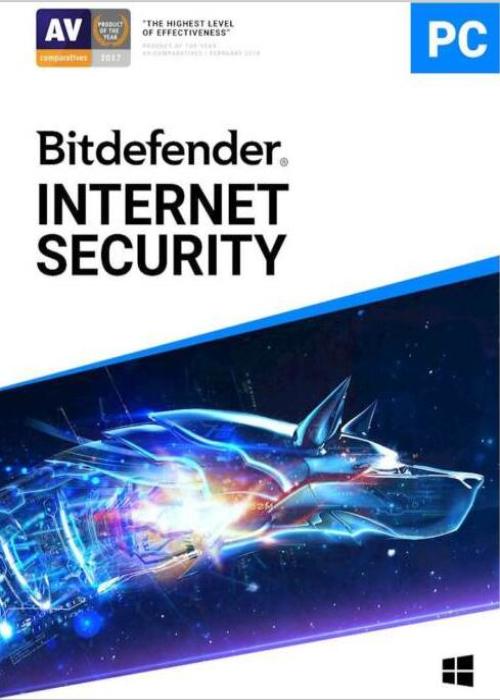 Bitdefender Internet Security 1 PC 1 Year Key ROW