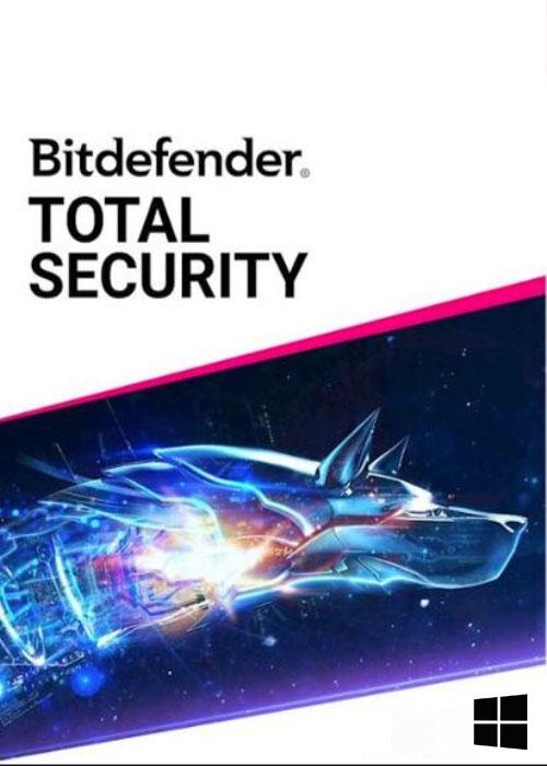 Bitdefender Total Security 10 PC 1 Year Key Global