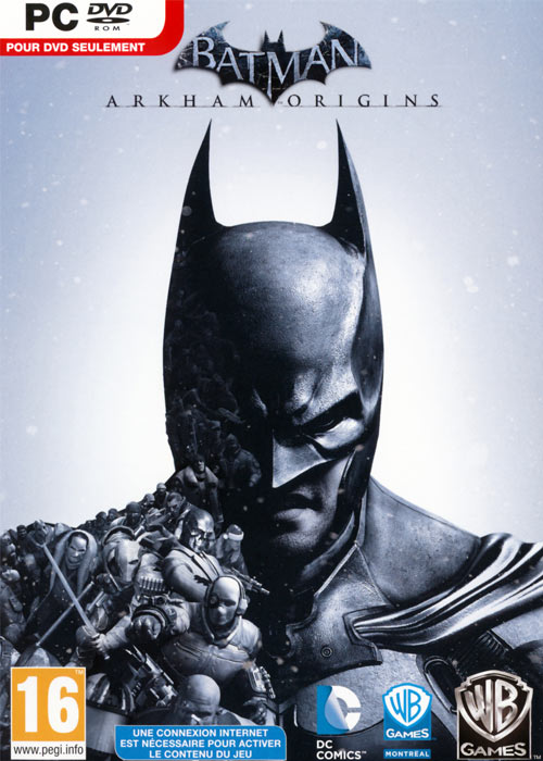 Batman Arkham Origins Steam CD Key