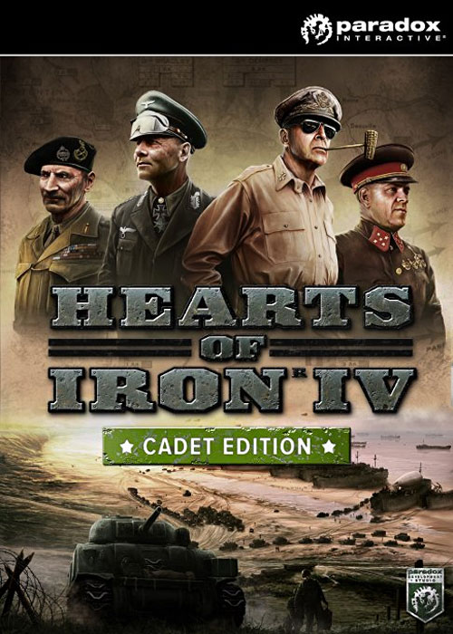 Hearts of Iron IV Cadet Edition Steam CD-Key