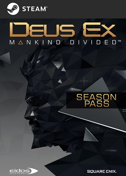 Deus Ex Mankind Divided Season Pass DLC Steam CD Key