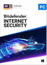 Official Bitdefender Internet Security 3 PC 1 Year Key Global